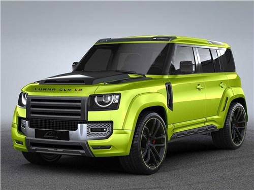 Lumma Design | Land Rover Defender вид спереди