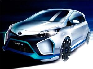 Toyota рассказала о гибридном прототипе Yaris Hybrid-R