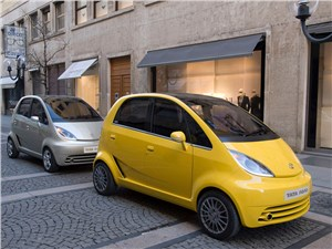 Tata Nano будет модернизирована в связи с ее провалом на рынке