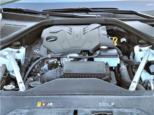 Genesis G80 (2021) моторный отсек