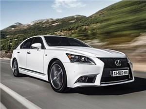В 2017 году Lexus выпустит новое поколение седана LS