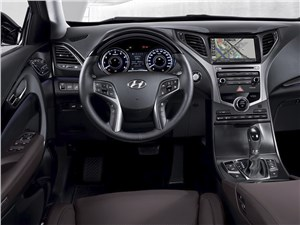 Hyundai Grandeur - Hyunday Grandeur 2014 водительское место