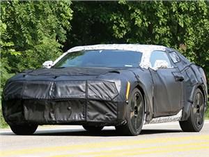 Chevrolet Camaro нового поколения проходит дорожные испытания
