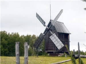 В каждом районе Поморья ветряные мельницы строили по-своему