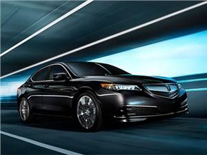 Американцы активно покупают новый бизнес-седан Acura TLX