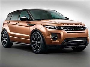 Кроссоверы Range Rover Evoque будут выпускаться в Китае в режиме полного цикла