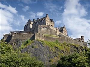 Взять приступом Эдинбургский замок было невозможно