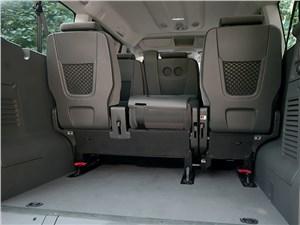Citroen Jumpy 2014 багажное отделение