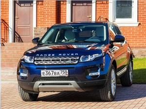 Предпросмотр land rover range rover evoque 5-door 2013 вид спереди
