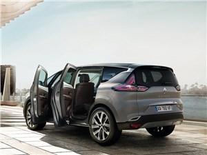 Renault Espace 2015 вид сбоку сзади фото 2