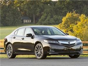 Седан Acura TLX официально вышел на российский рынок