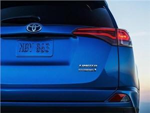 Гибридная Toyota RAV4 нового модельного года дебютирует в Нью-Йорке уже в апреле
