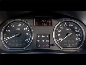 Nissan Terrano 2014 приборная панель