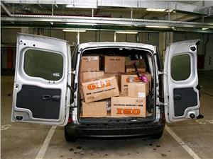 Предпросмотр renault kangoo 2014 грузовой отсек