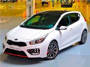 С конвейера завода Kia Motors в Словакии сошел миллионный экземпляр cee'd