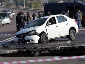 Большинство аварий в России случаются из-за плохих дорог
