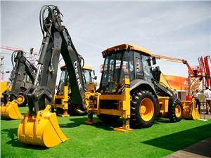 John Deere продемонстрировала десятки новых машин для строительства