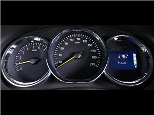 Renault Duster 2015 приборная папнель