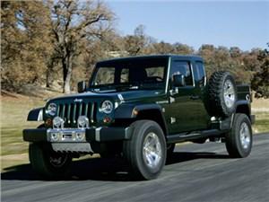 В новом поколении вседорожника Jeep Wrangler появится большой пикап