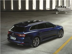 Renault Talisman Estate 2016 вид сверху
