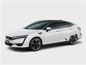 Предпросмотр honda clarity fuel cell 2016 вид спереди сбоку