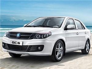 К выходу на российский рынок готовится обновленная версия Geely GC6
