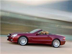 Mercedes-Benz SL 500 2009 вид сбоку