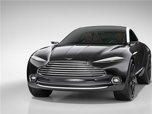 Кроссовер Aston Martin получит двигатели Mercedes-AMG
