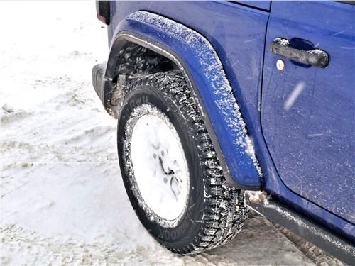 Jeep Wrangler (2018) переднее колесо