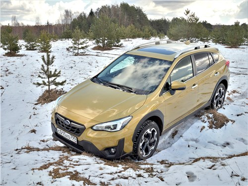 Subaru XV (2022) вид спереди