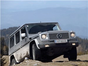 Аристократы бездорожья (Range Rover, Lexus LХ470, Mercedes-Benz G-Klasse) G-Class -