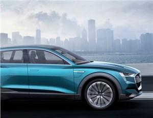 Новость про Audi - Audi привезет в Детройт водородный кроссовер