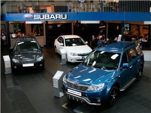 Новость про Subaru - В России приостановлены продажи трех моделей Subaru