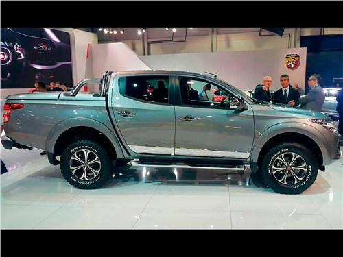 Fiat Fullback 2016 вид сбоку