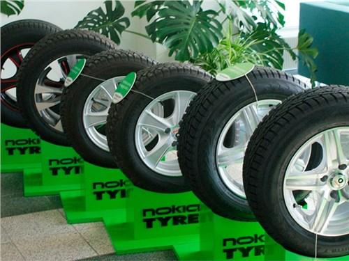 Доход от продаж шин компании Nokian Tyres в России в 2015 году упал на 34,8%