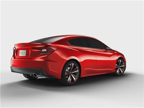 Предпросмотр subaru impreza sedan concept 2015 вид сзади сбоку