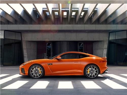 Предпросмотр jaguar f-type svr coupe 2016 вид сбоку