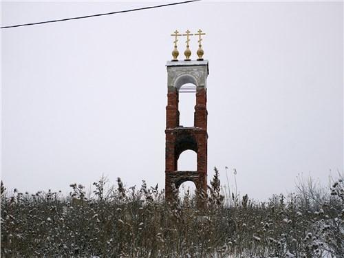 Храм во имя преподобного Петра Столпника в Ершово планируется восстановить