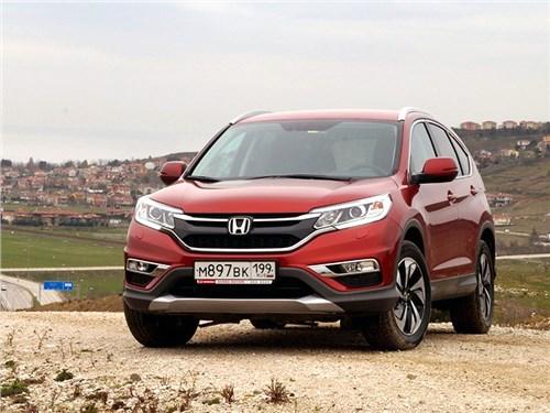 Обновленный Honda CR-V получил рублевый ценник