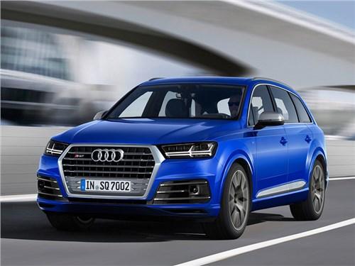 Новость про Audi - Audi SQ7 2017