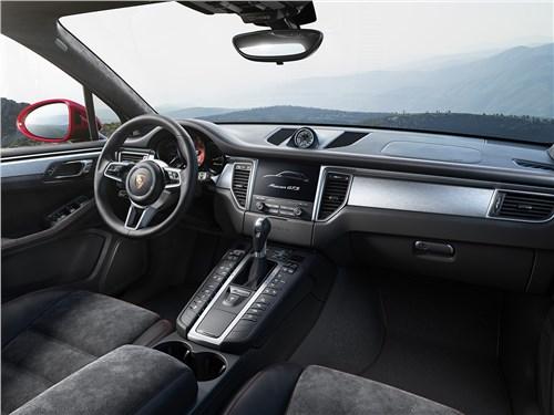 Porsche Macan GTS 2017 салон