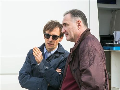 Андрей Гордасевич (Volkswagen) и Андрей Безверхов (журнал «Автопанорама»)