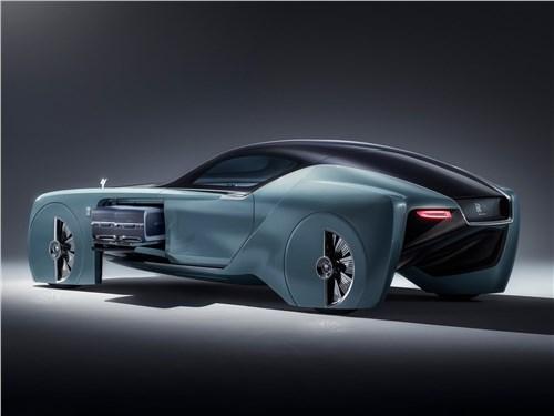 Предпросмотр rolls-royce vision next 100 concept 2016 вид сбоку сзади