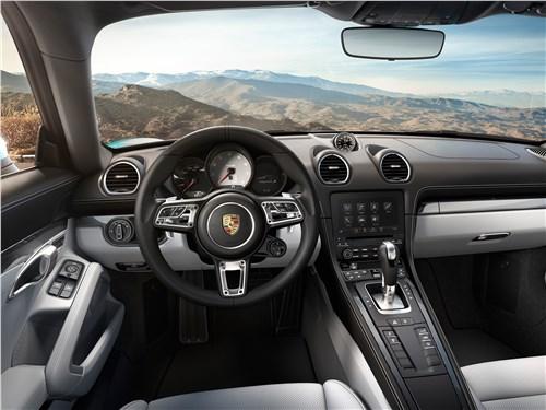 Porsche 718 Cayman 2017 салон