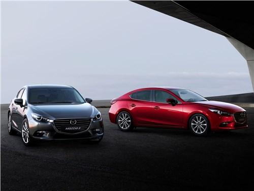 Охота на лидера 3 - Mazda 3 sedan 2017