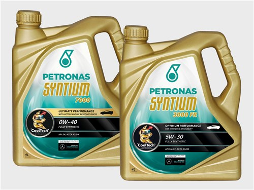 PETRONAS Syntium 7000 0W-40, Syntium 3000FR 5W-30