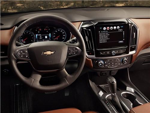 Chevrolet Traverse 2018 водительское место