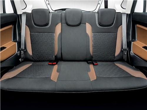 Lada XRay 2015 задний диван