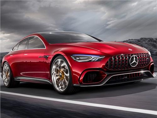 Mercedes-AMG GT Concept: конкурент для Panamera