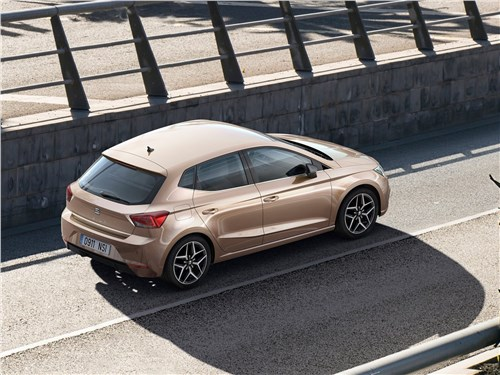 Зажигательная смесь (Renault Clio Sport,Opel Corsa OPC,Seat Ibiza Cupra,Skoda Fabia RS) Ibiza - Seat Ibiza 2018 вид сверху